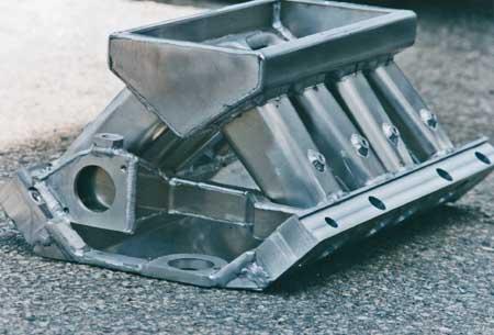 427 Ford Tunnel Port Sheet Metal Intake Manifold