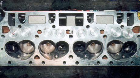 Damaged 440 Chrysler Indy Cylinder Head