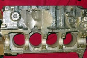 Aluminum Engine Block Repair