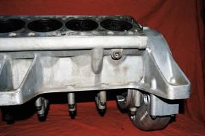 Repaired Ferrari 330 Aluminum Engine Block
