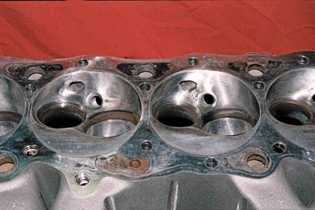 Broken Damaged B.M.F.385 Aluminum Cylinder Head