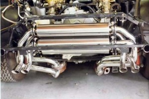 Ferrari 512 BB Stainless Steel Exhaust System
