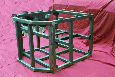 production welding fabrication complex weldment