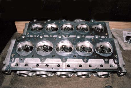 Aluminum Weld Repair Supercharged Dodge Viper Cylinder Head
